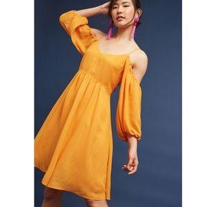 Anthro Moulinette Soeurs   Open Shoulder Dress XS
